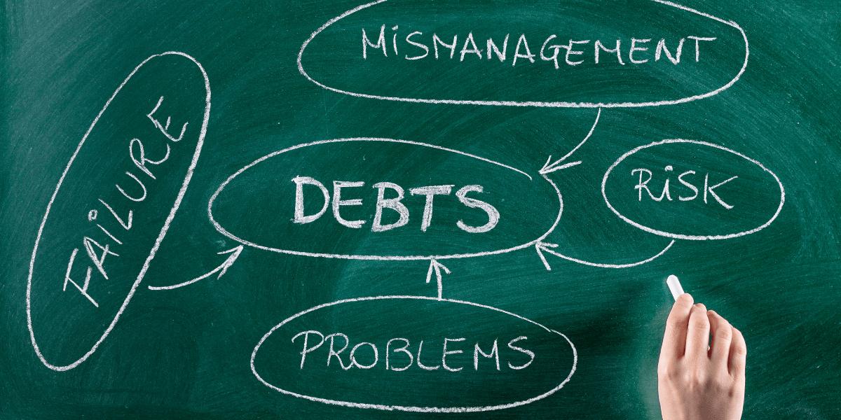 problem with debt mangement